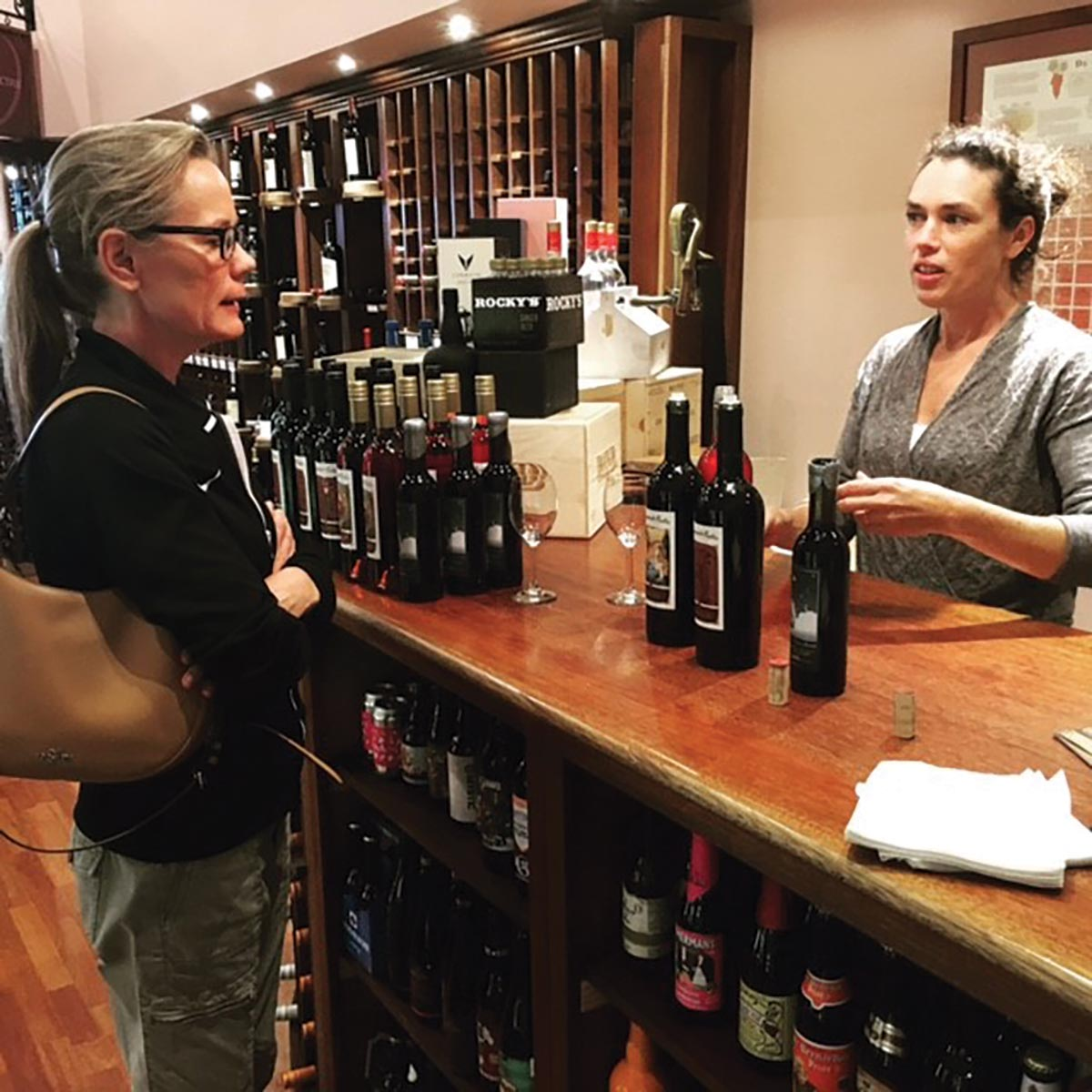 Sage Cellars Hosts Tasting Events with Visiting Wine Representatives