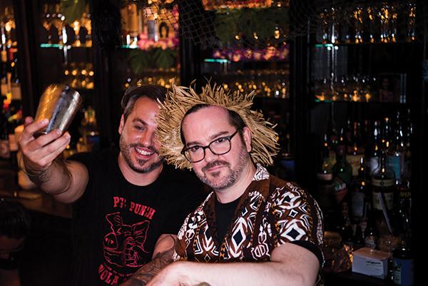 Ordinary Hosts Tiki Island Pop-Up Featuring Sailor Jerry Rum