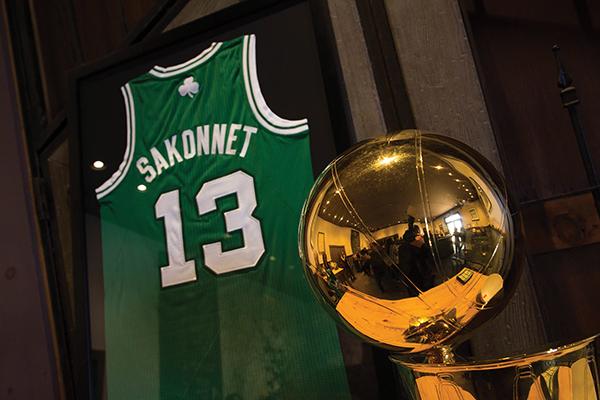 Boston Celtics Name Sakonnet Official Wine