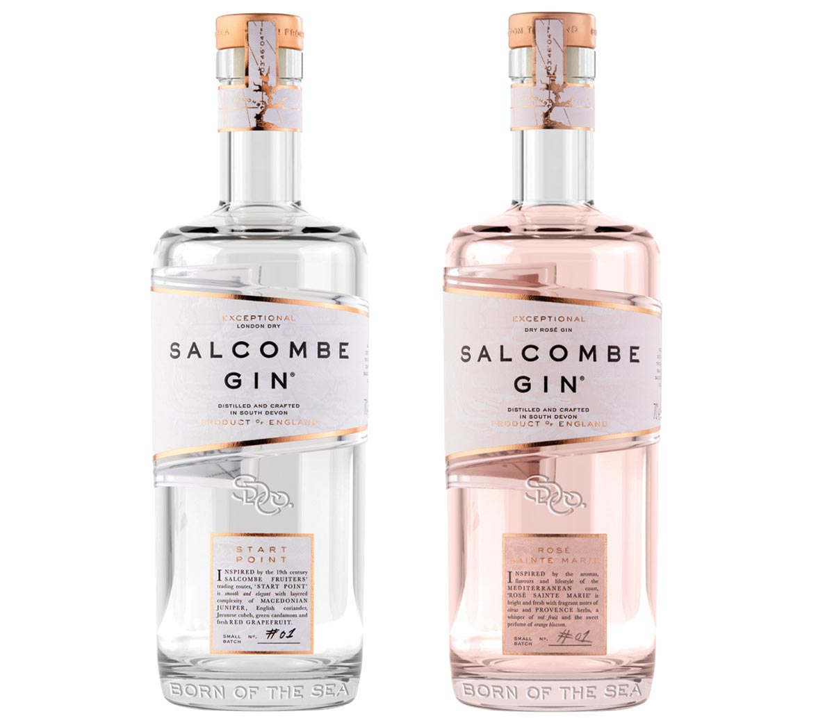 U.K.'s Salcombe Gin Launches in New England