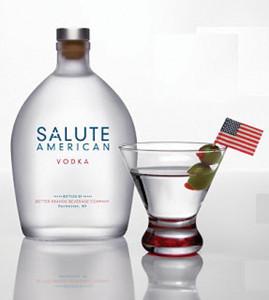 Salute vodka