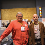 Jim Donahue, Owner, Winam Wines; Miguel A. Negrete, Grupo Pierola.