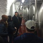 Inside the Schlenkerla beer caves in Bamberg.