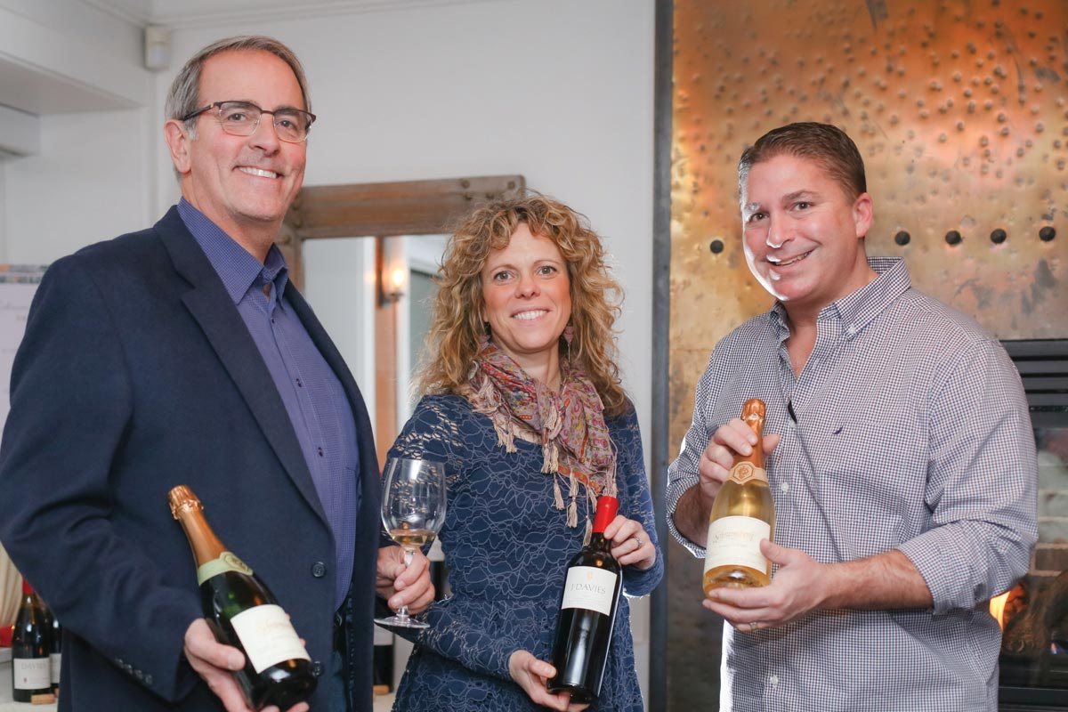 Coast Guard House Highlights Schramsberg and Davies Wines