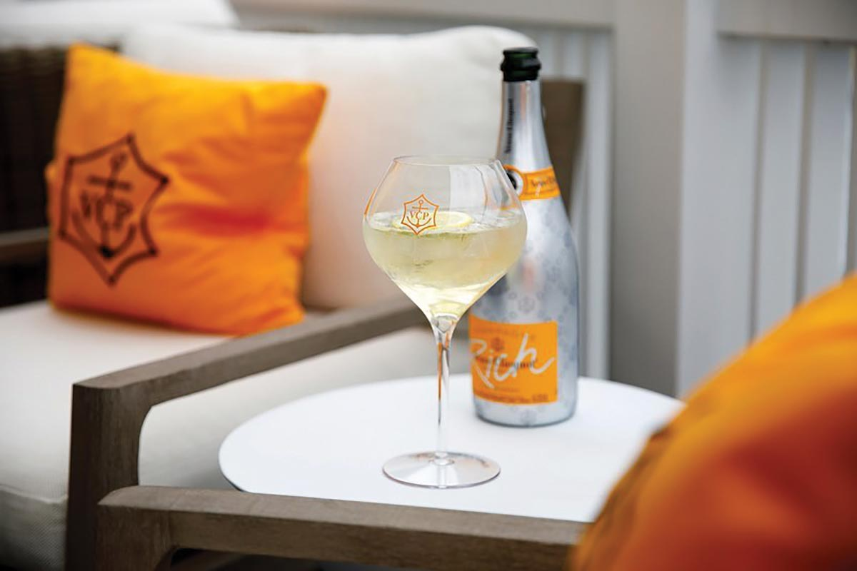 Veuve Clicquot Showcased for Summer Luxury Offering
