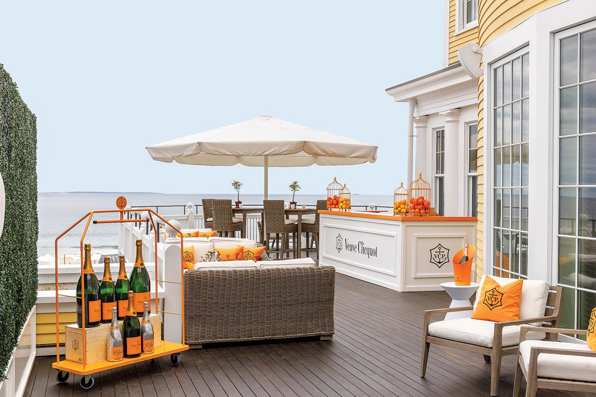 Veuve Clicquot Secret Garden Reopens for Private Seating