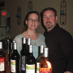 Nickle Creek Vineyard Owners Sheri and Steve O'Connor. Photo by Nancy Kirsch.