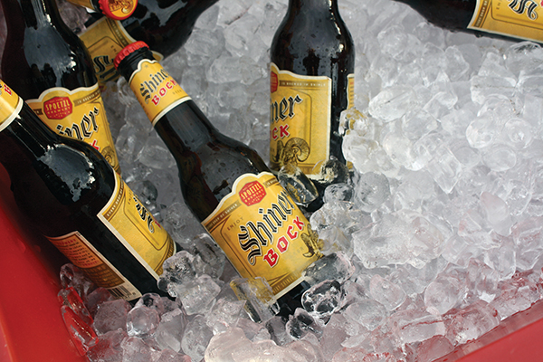 SHINER BEER LINE FROM TEXAS COMES TO CONNECTICUT
