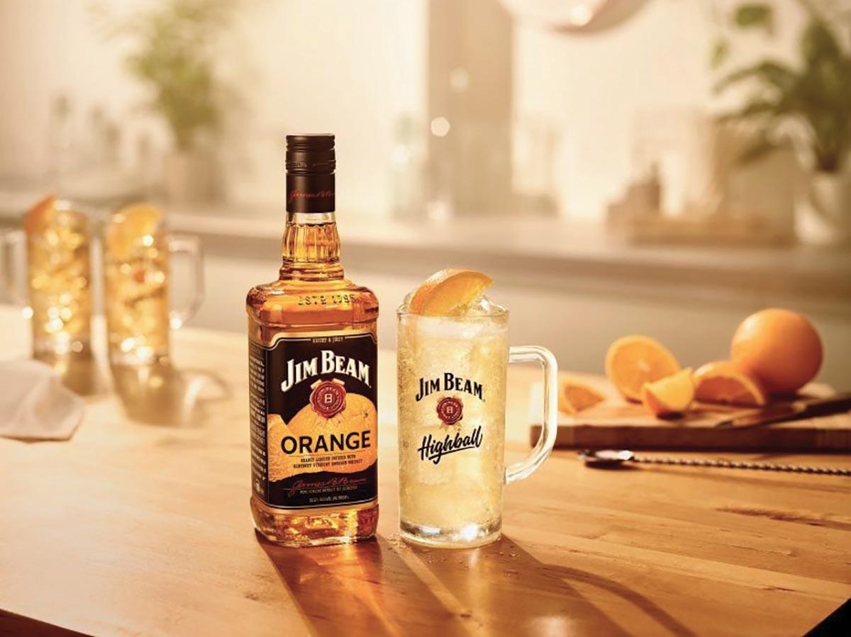 Jim Beam Orange Freshens Up Flavored Whiskey