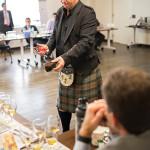 Simon Brooking, Brand Ambassador, Laphroaig, during an educational tasting session with CDI staff.