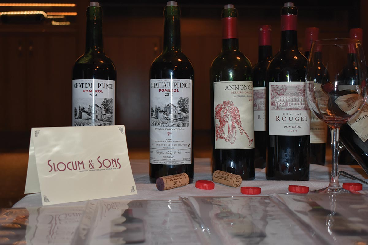 Slocum & Sons Hosts Domaines & Chateaux Tastings
