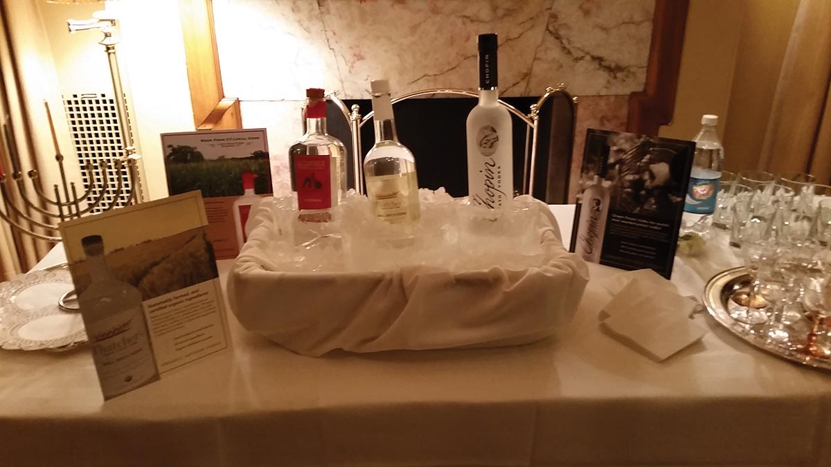 Slocum & Sons Showcases Vodka During Hartford Tasting Event
