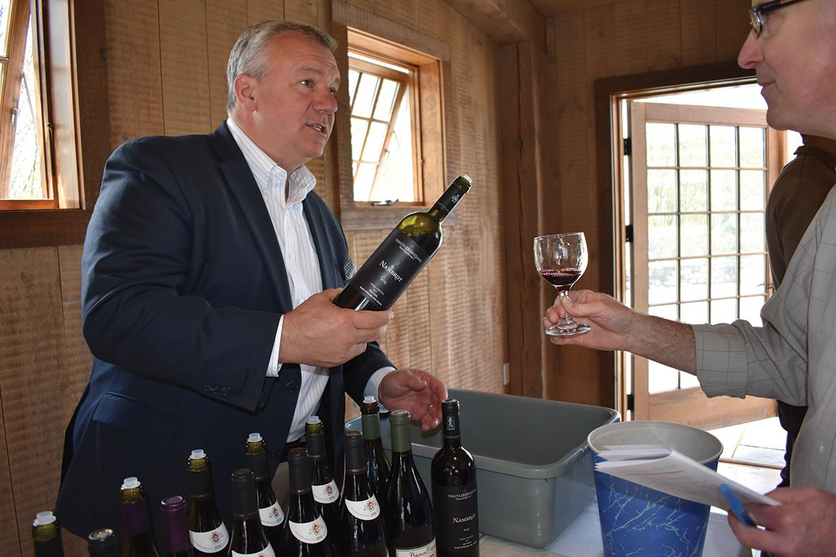 Slocum & Sons Showcases Boutique and Unique Wines at Winvian