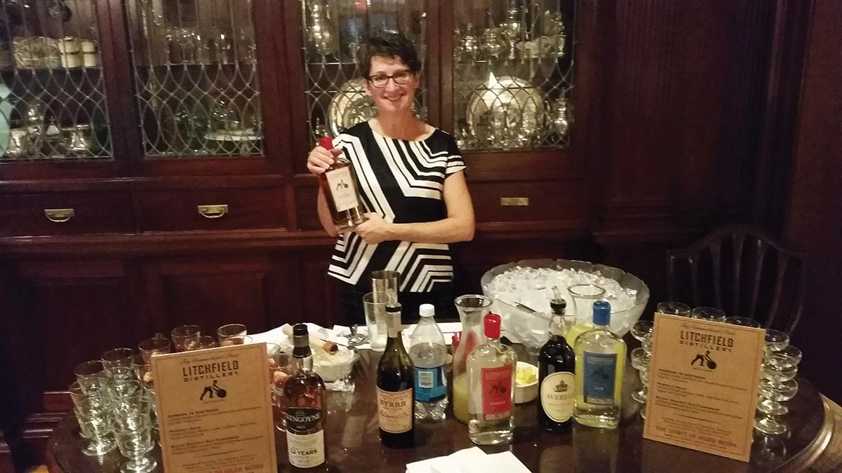 Slocum & Sons Pours Litchfield Distillery Line at Hartford Benefit