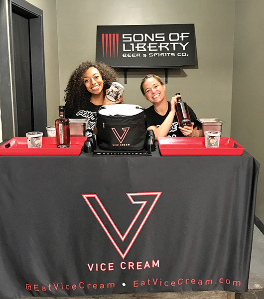 Sons of Liberty Brewery and Distillery Hosts Ice Cream Takeover