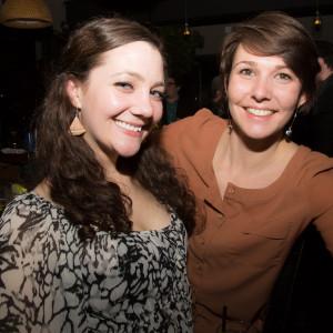 Sophia Greenia and USBG RI Treasurer Laura Moore.