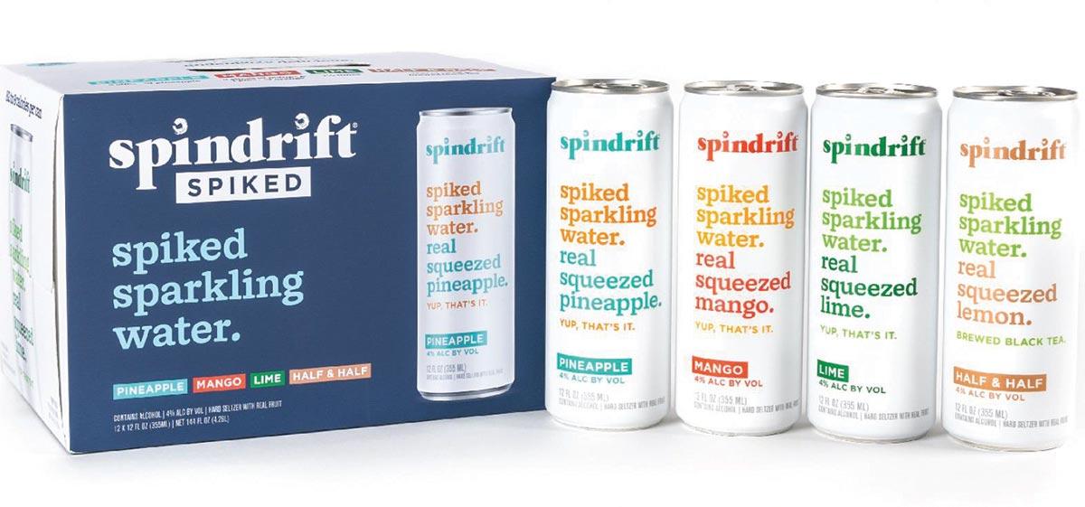 Spindrift Spiked Joins Horizon Beverage Portfolio