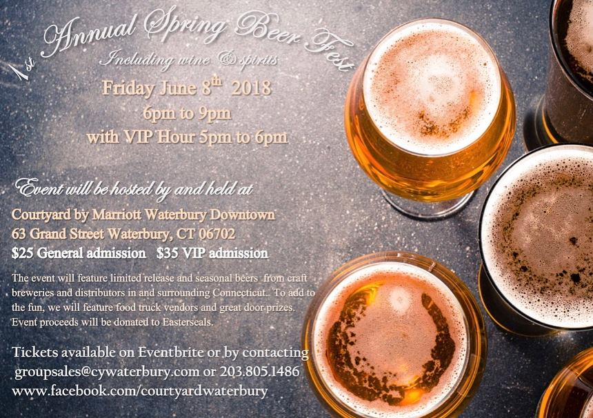 June 8, 2018: Spring Beer Fest