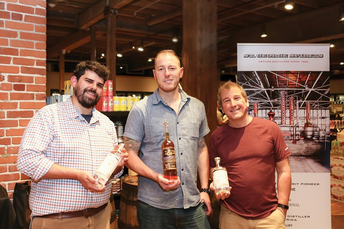 Horizon Beverage Showcases St. George Spirits at Tasting