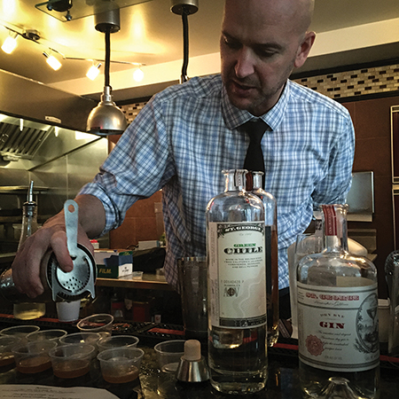 St. George Spirits Hosted in Newport