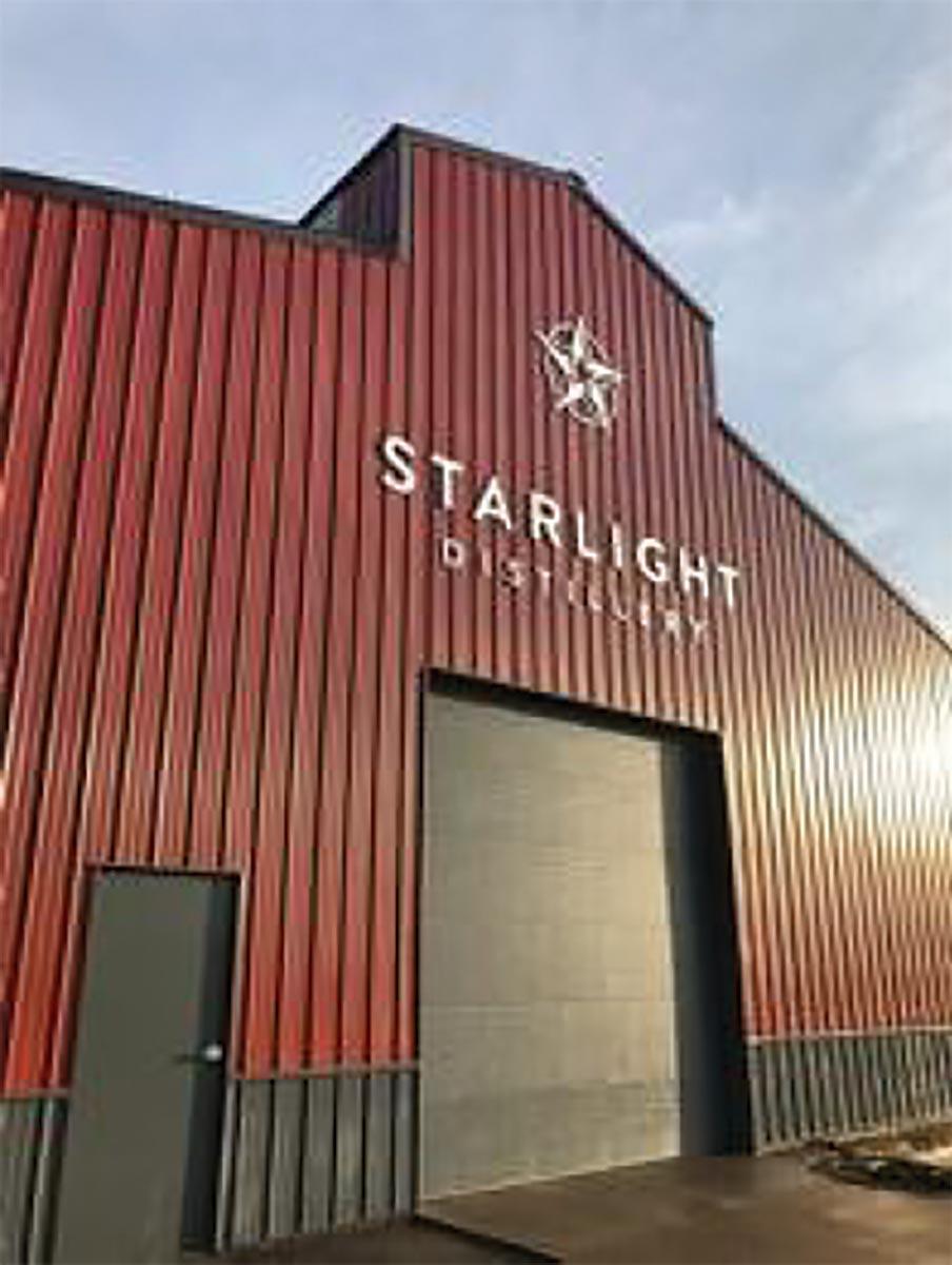 Starlight Distillery Launches with Brescome Barton