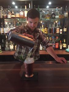 Alan Caswell, Bartender.