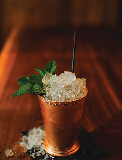 "Serving Up: The ""Kentucky Mulep"" at Statesman Tavern"