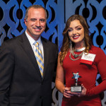 The RI Hospitality Association's 2015 Bartenders of the Year included: Stephanie Merola of Andino's.