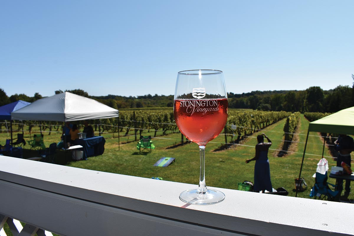 Stonington Vineyards Hosts Annual Fall Harvest Fest