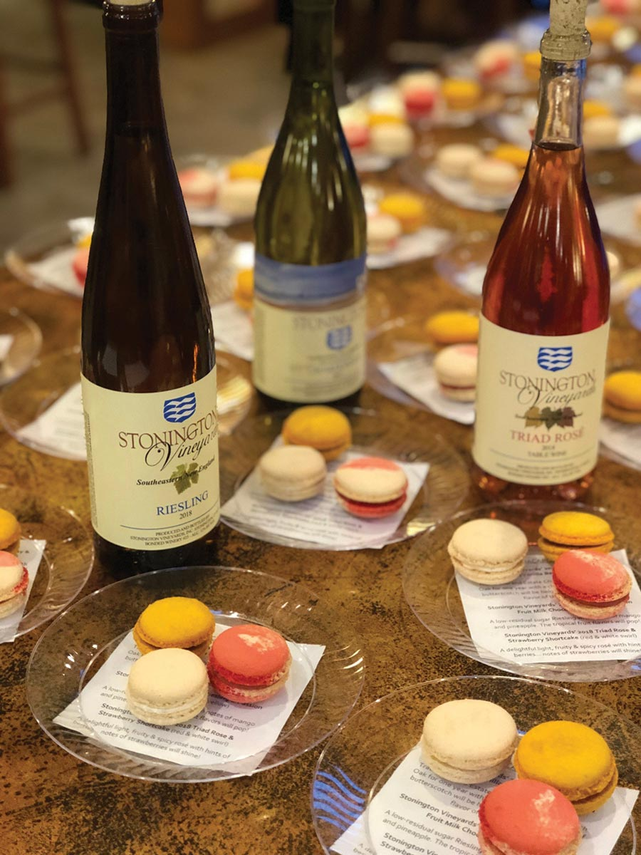 Stonington Vineyards Showcases Wine and Dessert Pairing