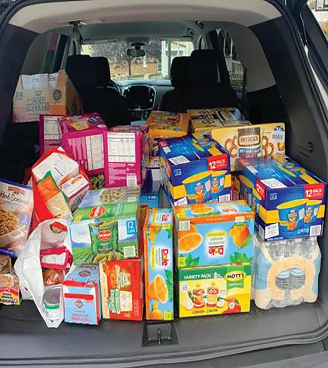 CDI Annual Food Drive Efforts Benefit Community