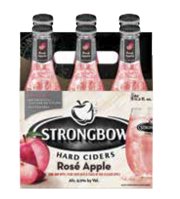 Strongbow Introduces Rosé Apple Cider