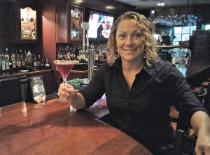 Kay Salvas, Bar Manager