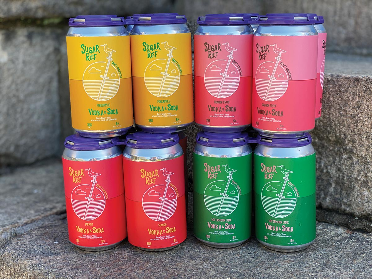 Sugar Reef Canned Cocktails Releases New Summer Flavors