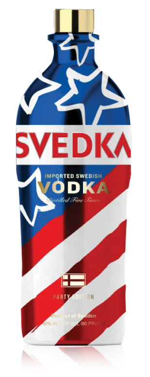 SVEDKA GETS IN HOLIDAY SPIRIT WITH LIMITED EDITION BOTTLE
