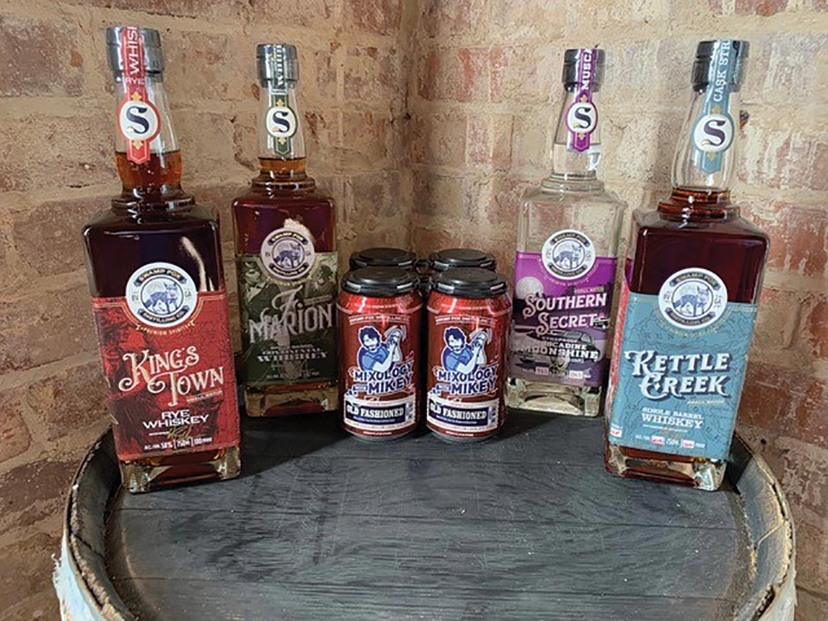 Georgia-Based Craft Spirits from Swamp Fox Newly Available