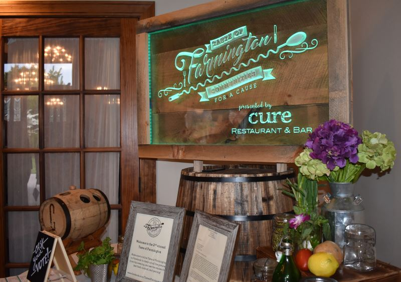 Second Annual Taste of Farmington Raises Funds for Charity