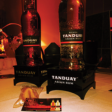 TANDUAY ASIAN RUM BRINGS INTRIGUE TO TASTES-OF-THE-VALLEY