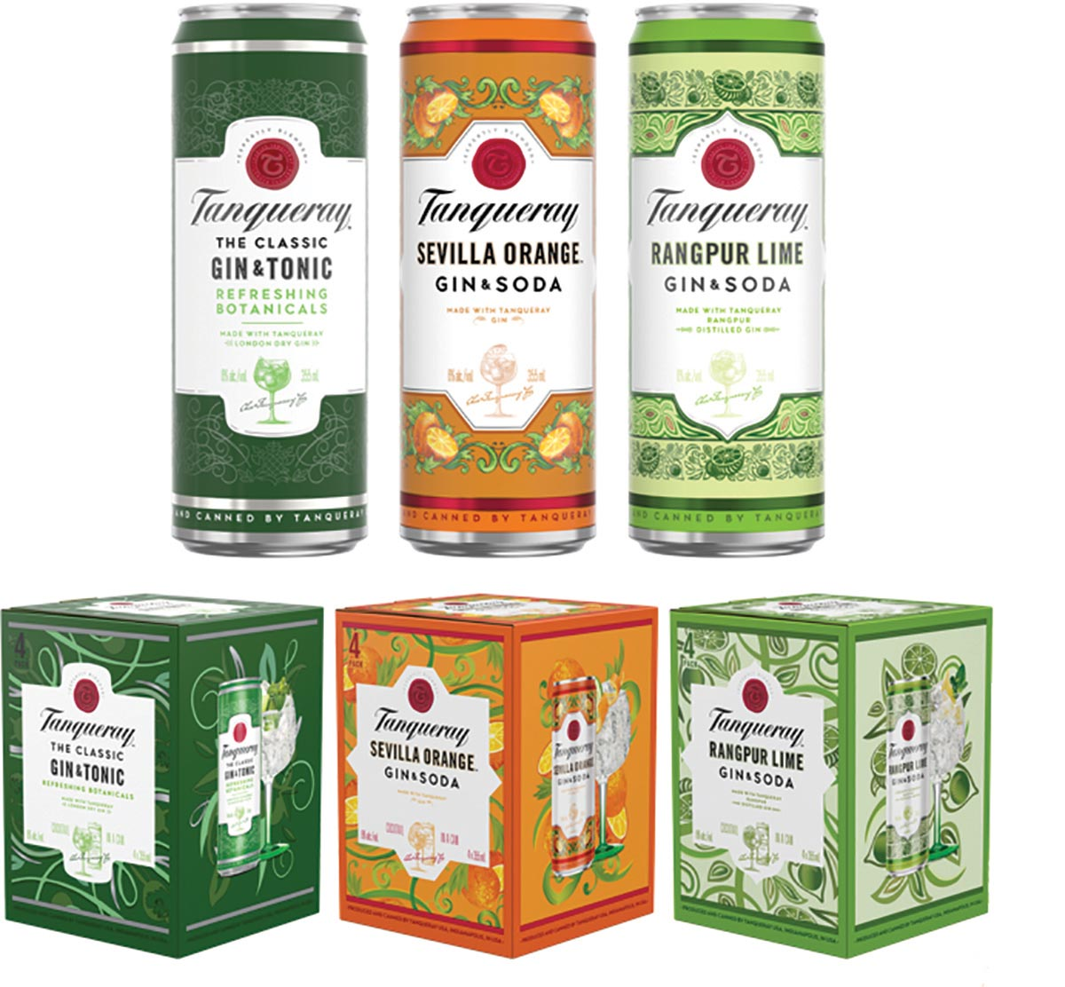 Mancini Beverage Welcomes Tanqueray Crafted Gin Cocktails