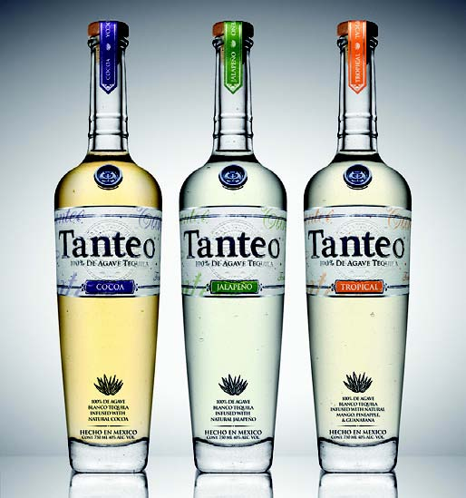 TANTEO INFUSES TEQUILA WITH MEXICAN FLAVORS