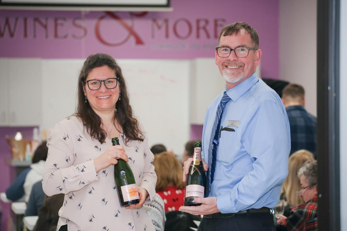 Champagne Brands Shine at Retail Tasting Event