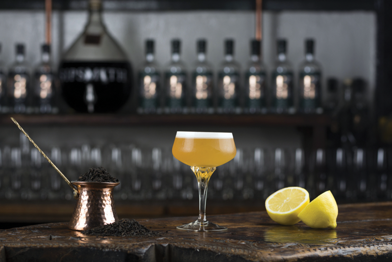 FLEXIBILI-TEA – Tea can be a cocktail base, or it can be a flavoring agent, infused into spirits or syrups. The Lady Grey Martini uses Sipsmith Gin infused with Lady Grey tea (a milder take on bergamot-tinged Earl Grey).