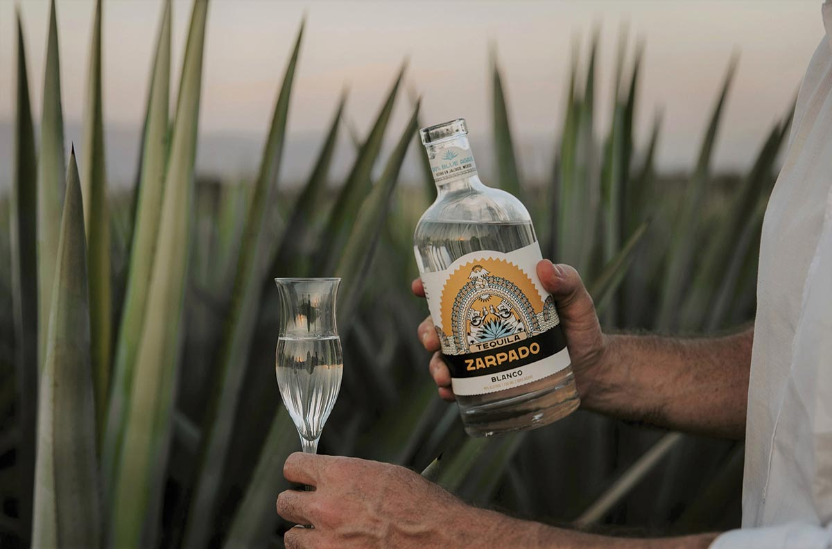 Small-Batch Craft Tequila Zarpado Launches