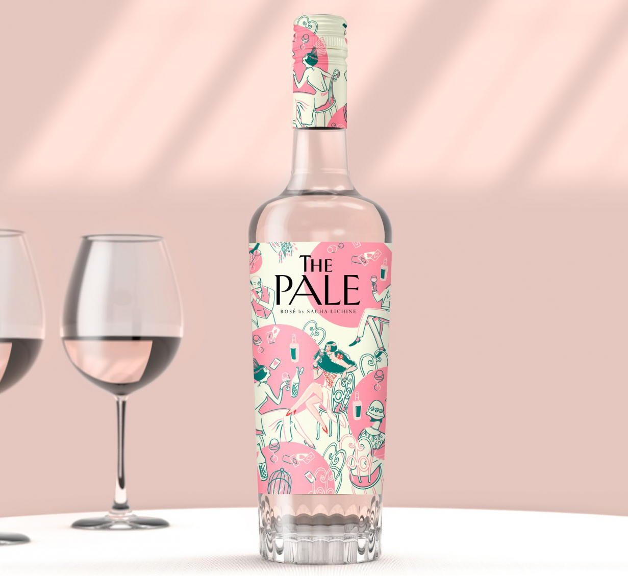 The Pale Rosé Launches with Mancini Beverage