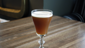 The Wooden Nickel at Sable Kitchen & Bar in Chicago is based on single malt Scotch and Ramazotti Amaro.