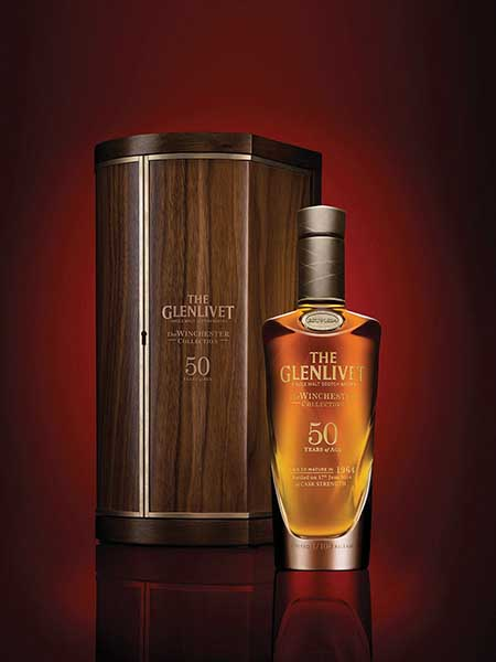 The Glenlivet's Winchester Collection Offers Rare Release