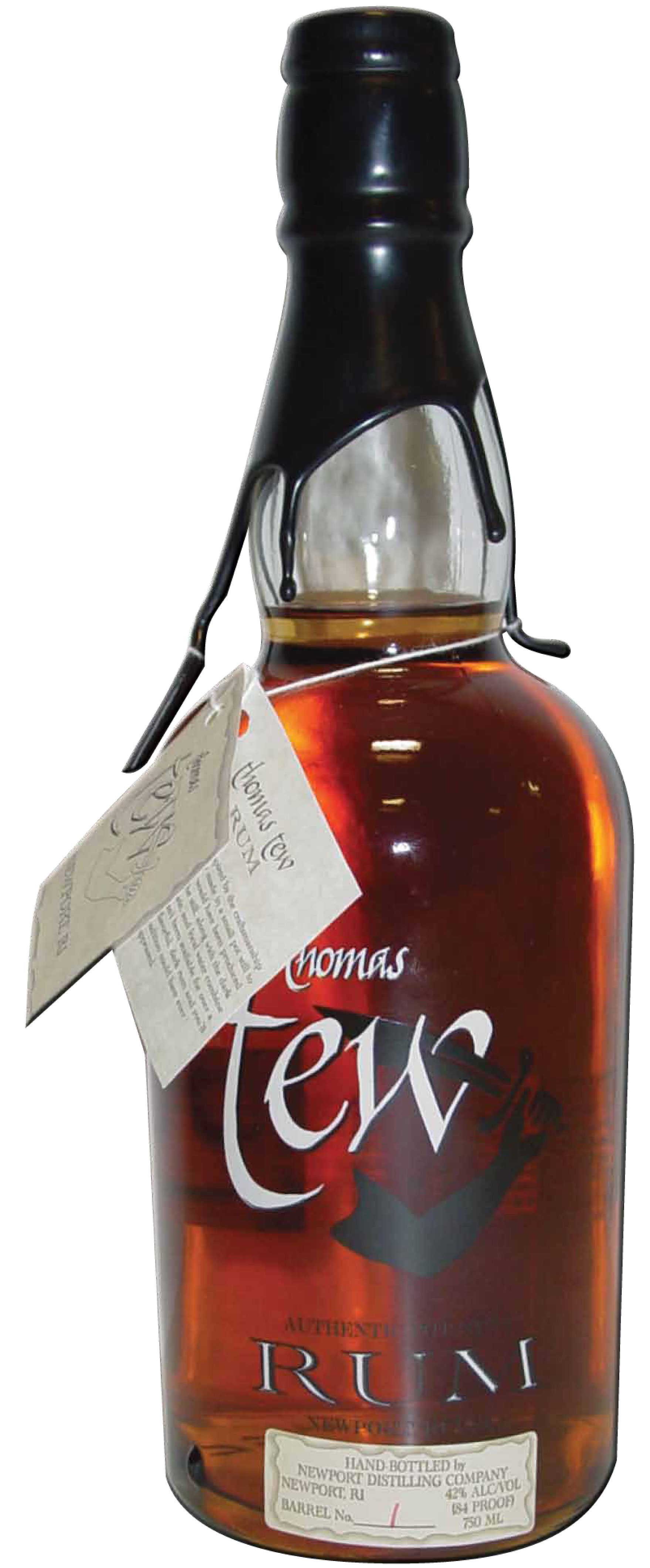 LOCAL THOMAS TEW RUM EXPANDS DISTRIBUTION