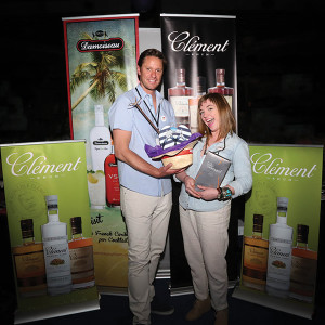 Benjamin Melin-Jones of Rhum Clément and Speck at the New England Tequila & Rum Festival. Photo by Chris Almeida.