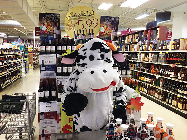 Tippy Cow Rum Cream Featured at Branford Halloween Tasting