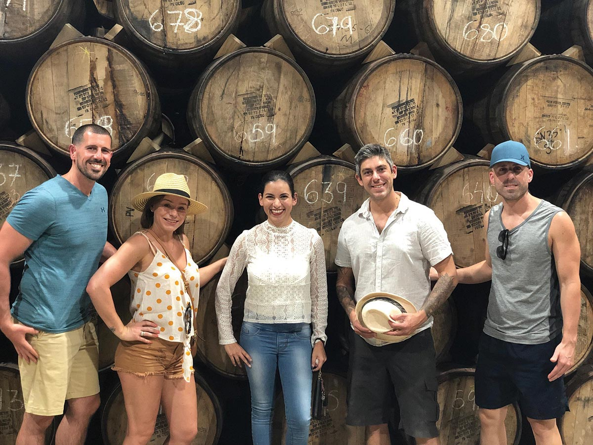 Tres Agaves Distillery Hosts Trade Group from Connecticut